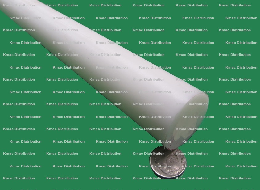"Copolymer Acetal Round Rod - Natural Nominal 60/"" x 7//16/"" Diameter"