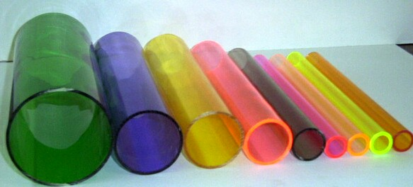 Colored Acxrylic Tubes