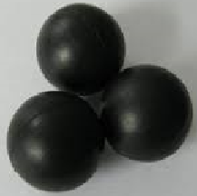 Neoprene black balls
