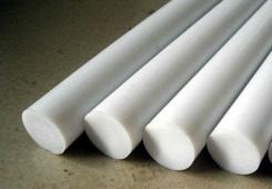 "1 7//8/"" Virgin PTFE Teflon Plastic Rod-Price Per Foot-Cut to Size!"