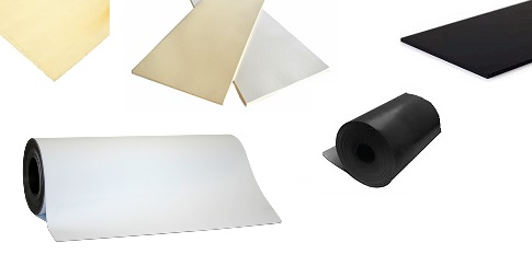 Rubber EDM, Butyl, Hypalon Nitrile and Gum Sheets